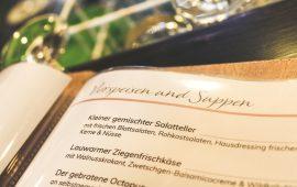 Speisekarte Ratsstuben Weissach